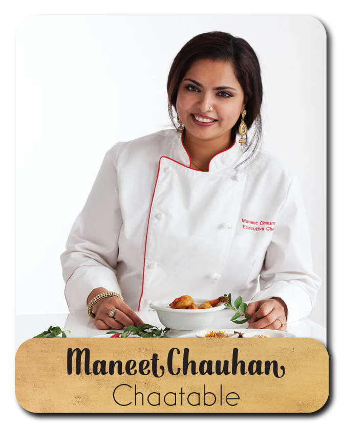 Photo of Maneet Chauhan, Chaatable